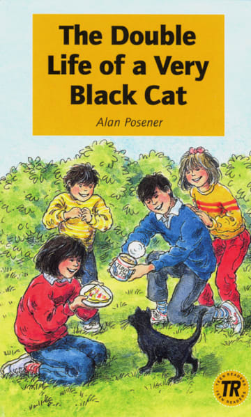 Cover The Double Life of a Very Black Cat 978-3-12-544118-7 Alan Posener Englisch