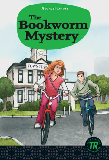 Cover The Bookworm Mystery 978-3-12-544213-9 George Ivanoff Englisch