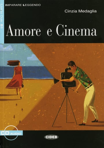 Cover Amore e cinema 978-3-12-552342-5 Cinzia Medaglia Italienisch