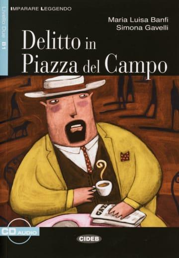 Cover Delitto in Piazza del Campo 978-3-12-565009-1 Maria Luisa Banfi, Simona Gavelli Italienisch