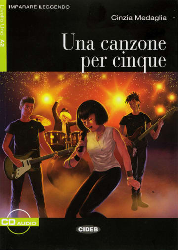 Cover Una canzone per cinque 978-3-12-565017-6 Cinzia Medaglia Italienisch