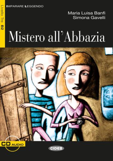Cover Mistero all' Abbazia 978-3-12-565020-6 Maria Luisa Banfi, Simona Gavelli Italienisch
