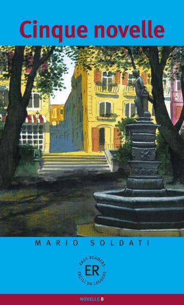 Cover Cinque novelle 978-3-12-565750-2 Mario Soldati Italienisch