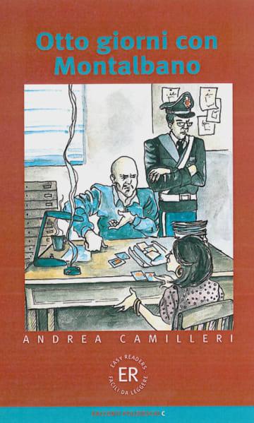 Cover Otto giorni con Montalbano 978-3-12-565860-8 Andrea Camilleri Italienisch