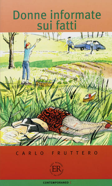 Cover Donne informate sui fatti 978-3-12-565862-2 Carlo Fruttero Italienisch