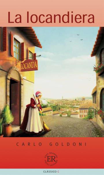 Cover La locandiera 978-3-12-565864-6 Carlo Goldoni Italienisch