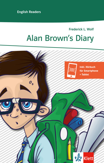 Cover Alan Brown's Diary 978-3-12-571452-6 Frederick L. Wolf Englisch