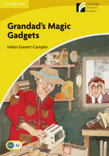 Cover Grandad's Magic Gadgets 978-3-12-573029-8 Helen Everett-Camplin Englisch
