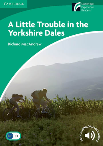 Cover A Little Trouble in the Yorkshire Dales 978-3-12-573035-9 Richard MacAndrew Englisch