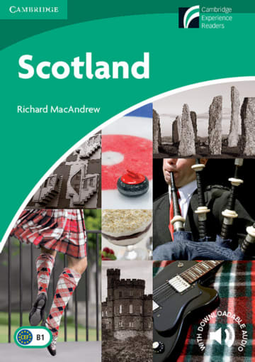 Cover Scotland 978-3-12-573039-7 Richard MacAndrew Englisch