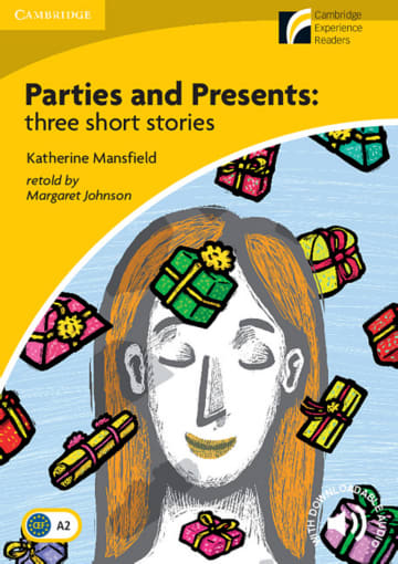 Cover Parties and Presents 978-3-12-573066-3 Katherine Mansfield Englisch