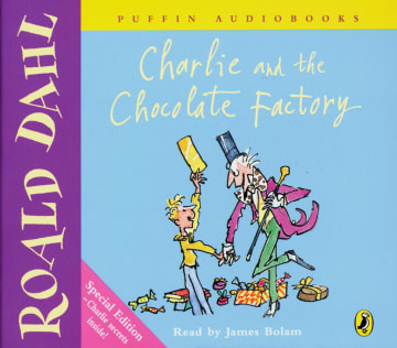 Cover Charlie and the Chocolate Factory 978-3-12-573763-1 Roald Dahl Englisch