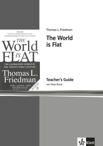 Cover The World is Flat 978-3-12-573797-6 Peter Bruck, Thomas Lauren Friedman Englisch