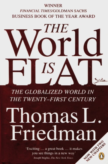 Cover The World is Flat 978-3-12-573799-0 Thomas Lauren Friedman Englisch
