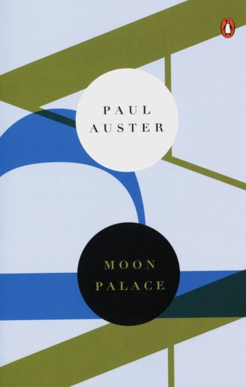 Cover Moon Palace 978-3-12-573831-7 Paul Auster Englisch