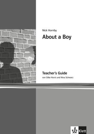 Cover About a Boy 978-3-12-573834-8 Silke Horst, Nina Schwarz, Nick Hornby Englisch