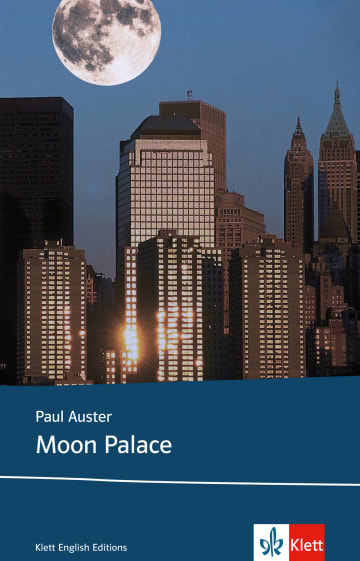 Cover Moon Palace 978-3-12-573835-5 Paul Auster Englisch