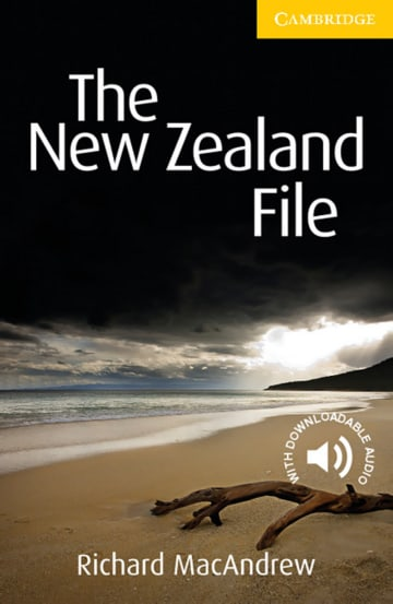 Cover The New Zealand File 978-3-12-574000-6 Richard MacAndrew Englisch