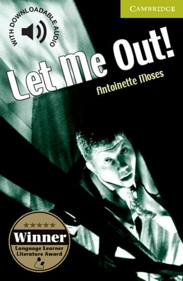 Cover Let me out! 978-3-12-574083-9 Antoinette Moses Englisch