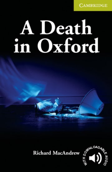 Cover A Death in Oxford 978-3-12-574092-1 Richard MacAndrew Englisch