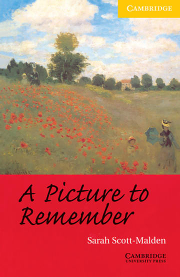 Cover A Picture to Remember 978-3-12-574208-6 Sarah Scott-Malden Englisch