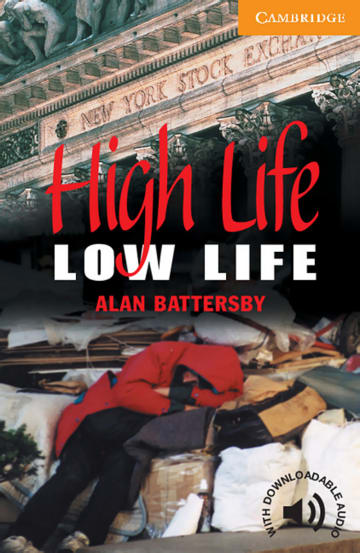 Cover High Life, Low Life 978-3-12-574420-2 Alan Battersby Englisch