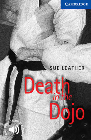 Cover Death in the Dojo 978-3-12-574501-8 Sue Leather Englisch