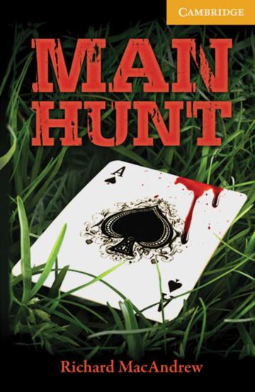 Cover Man Hunt 978-3-12-574550-6 Richard MacAndrew Englisch