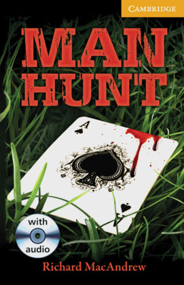 Cover Man Hunt 978-3-12-574551-3 Richard MacAndrew Englisch