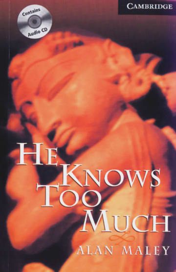 Cover He Knows Too Much 978-3-12-574630-5 Alan Maley Englisch