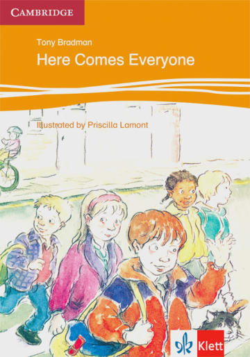 Cover Here Comes Everyone 978-3-12-574701-2 Tony Bradman Englisch