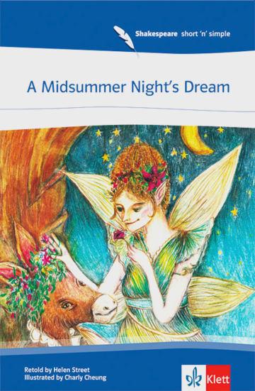Cover A Midsummer Night's Dream 978-3-12-576195-7 William Shakespeare Englisch