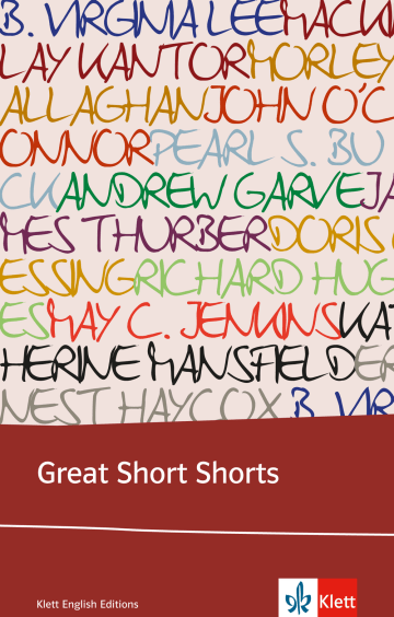 Cover Great Short Shorts 978-3-12-577341-7 Englisch
