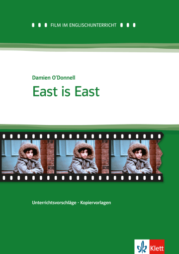 Cover East is East 978-3-12-577465-0 Peter Bruck, Damien O'Donnell Englisch