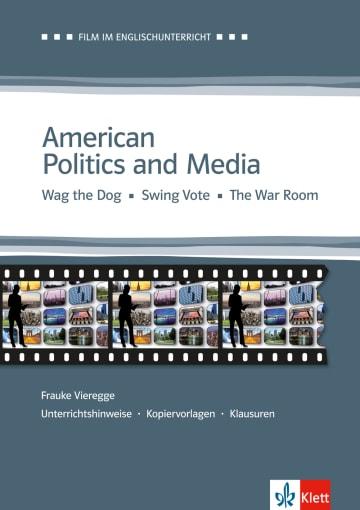 Cover American Politics and Media 978-3-12-577467-4 Frauke Vieregge Englisch
