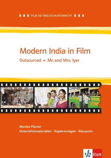 Cover Modern India in Film 978-3-12-577472-8 Monika Plümer Englisch