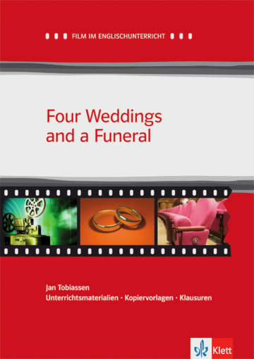 Cover Four Weddings and a Funeral 978-3-12-577473-5 Richard Curtis Englisch