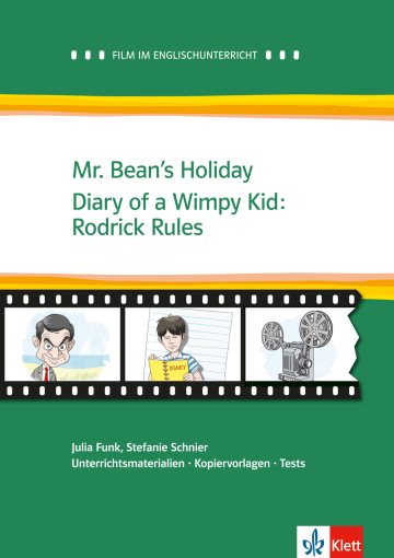 Cover Mr. Bean's Holiday / Diary of a Wimpy Kid: Rodrick Rules 978-3-12-577476-6 Julia Funk, Stefanie Schnier Englisch