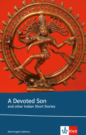 Cover A devoted son and other Indian short stories 978-3-12-577514-5 Anita Desai, Bharati Mukherjee, Meher Pestonji, Salman Rushdie Englisch