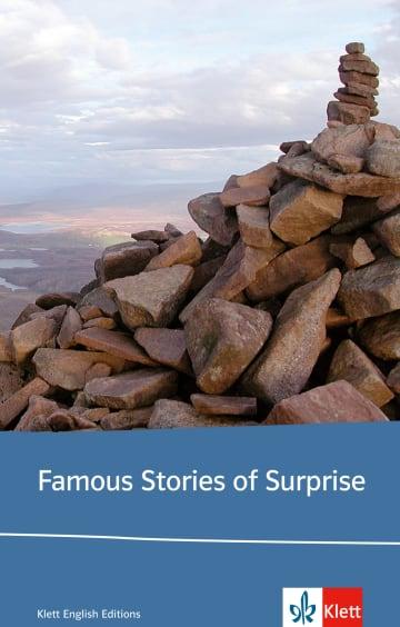 Cover Famous Stories of Surprise 978-3-12-577601-2 Arthur Charles Clarke, Roald Dahl, Barbara Dahlhaus, Shirley Jackson, Daphne du Maurier, Edgar Allan Poe Englisch
