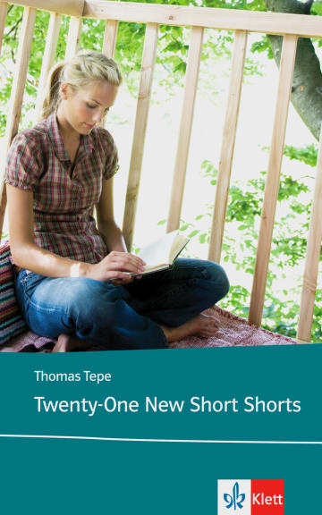 Cover Twenty-One New Short Shorts 978-3-12-577901-3 Isaac Asimov, Ray Bradbury, Thomas Tepe Englisch