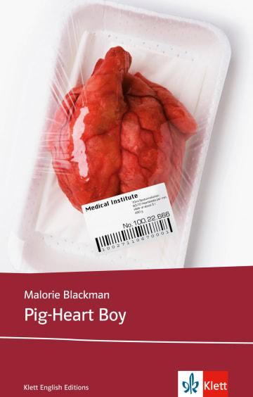 Cover Pig-Heart Boy 978-3-12-578023-1 Malorie Blackman Englisch