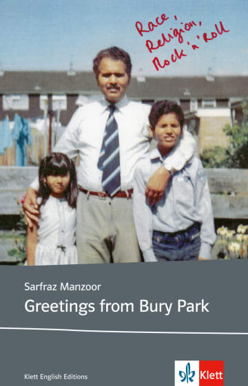 Cover Greetings from Bury Park 978-3-12-578046-0 Englisch