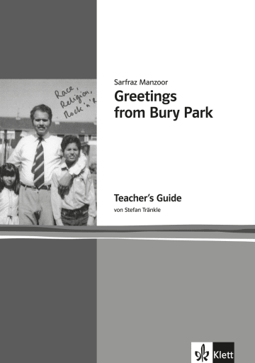 Cover Greetings from Bury Park 978-3-12-578047-7 Sarfraz Manzoor, Stefan Tränkle Englisch