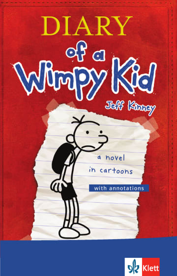 Cover Diary of a Wimpy Kid 978-3-12-578048-4 Englisch