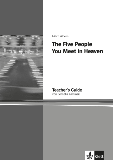 Cover The Five People You Meet In Heaven 978-3-12-578193-1 Mitch Albom Englisch