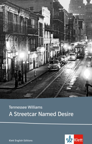 Cover A Streetcar Named Desire 978-3-12-578211-2 Tennessee Williams Englisch