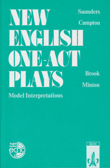 Cover New English One-act-Plays 978-3-12-578260-0 Englisch