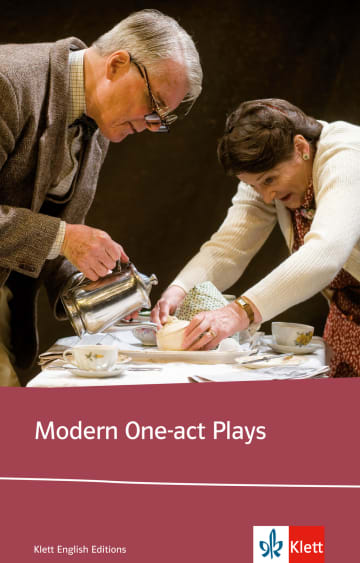Cover Modern One-act Plays 978-3-12-578301-0 Harold Pinter, James Saunders, Tom Stoppard Englisch