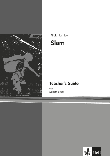 Cover Slam 978-3-12-579823-6 Miriam Bögel, Nick Hornby Englisch